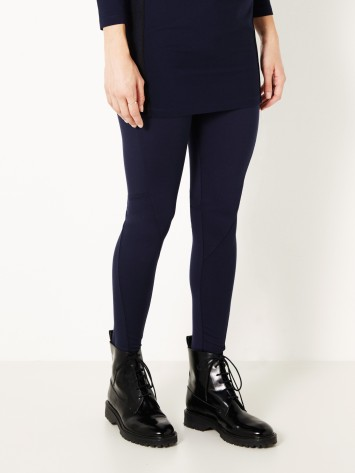 Leggings mit breitem Taillenband - True Blue /