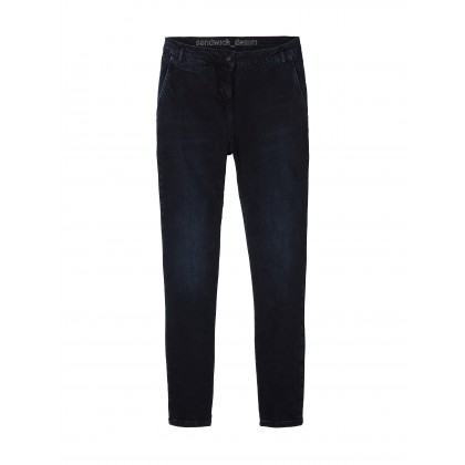 Oslo - Black Blue Denim /