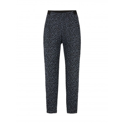 Treggings mit Leopardenprint - Graphite /