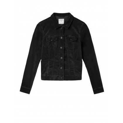 Veloursjacke - Black /
