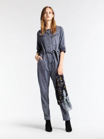 Denim Jumpsuit /