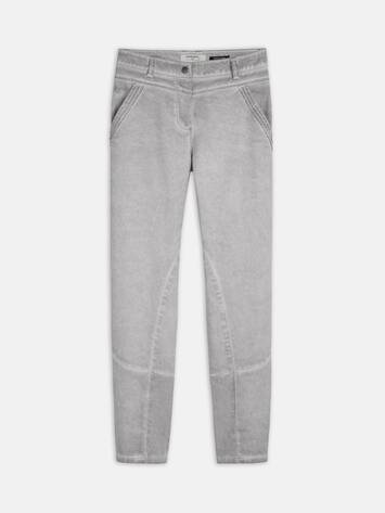 Skinny - Slim Fit Washed Jeans /